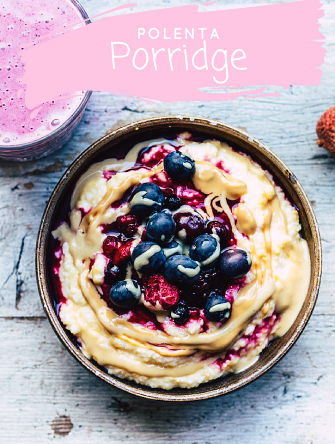 Mais Porridge – Cremiges Frühstücksglück