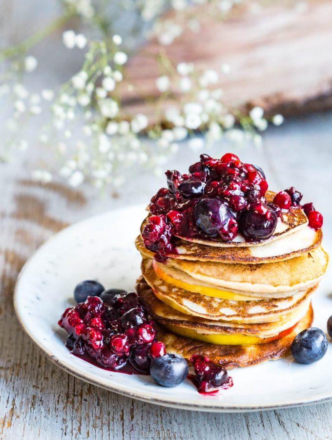 4 Zutaten – Pfannkuchen