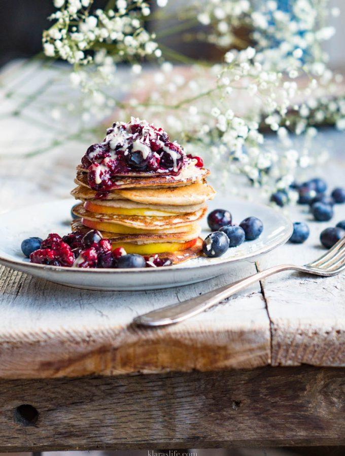 4 – ingredients Pancakes
