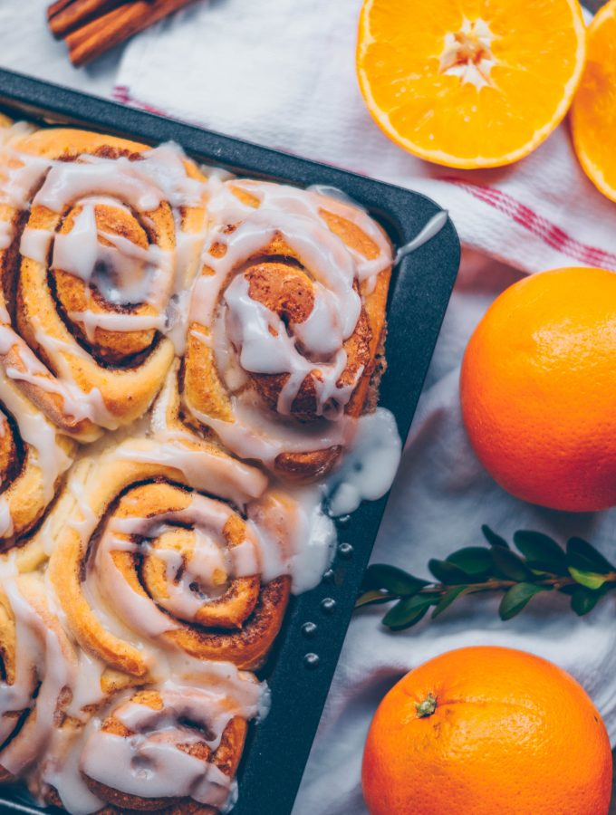 Easy Cinnamon Orange Rolls