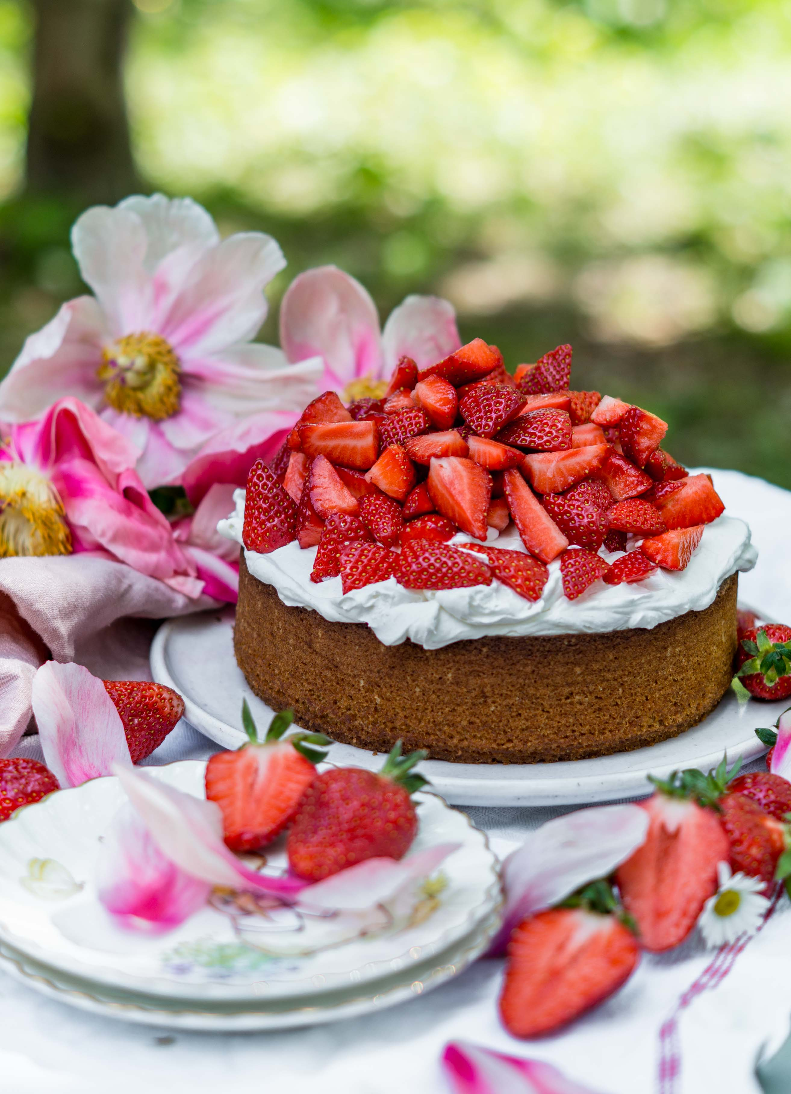 Saftiger Erdbeerkuchen Mit Vanillecreme Klara S Life