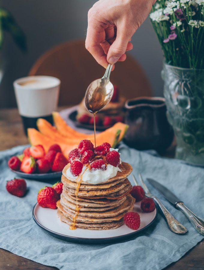 Frühstücksliebling: leckere Buchweizen Pfannkuchen