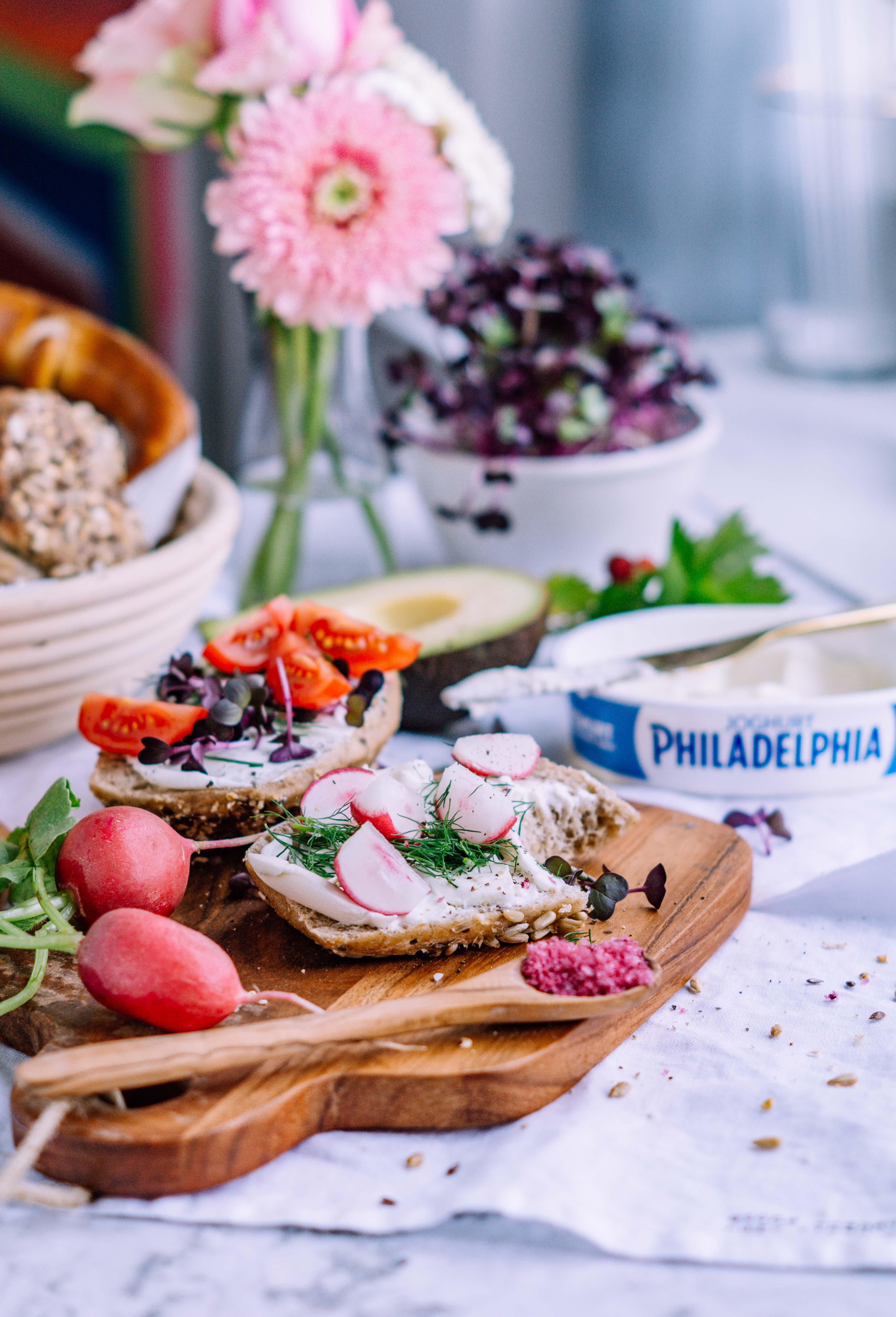 Leckere Frühstücksideen mit Philadelphia Joghurt (enthält Werbung ...