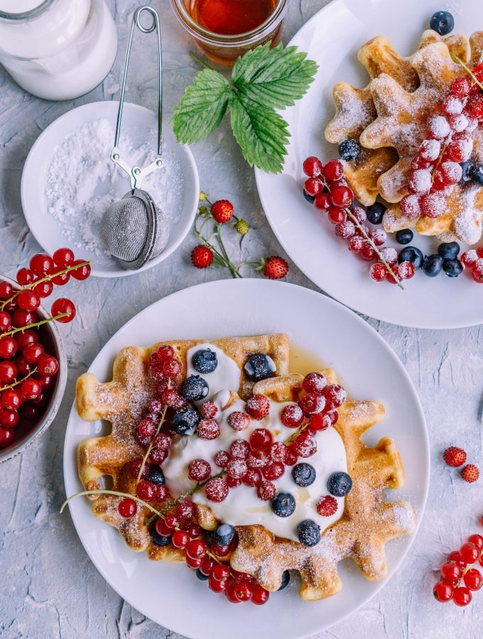 Waffle Recipe with Corn flour