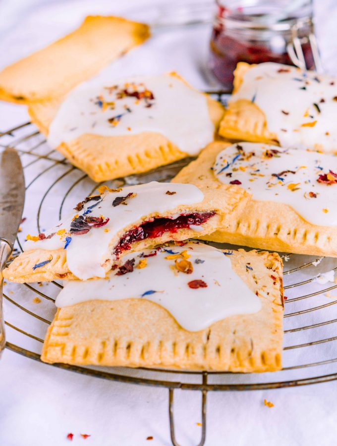 Homemade Blackberry Pop Tarts