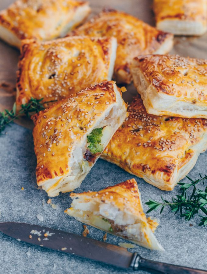 Tyrolean vegetable Flaky Pastries