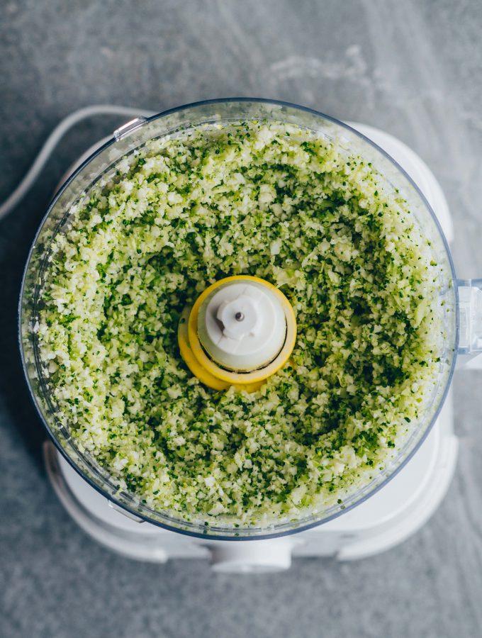 Crispy Cauliflower broccoli nuggets