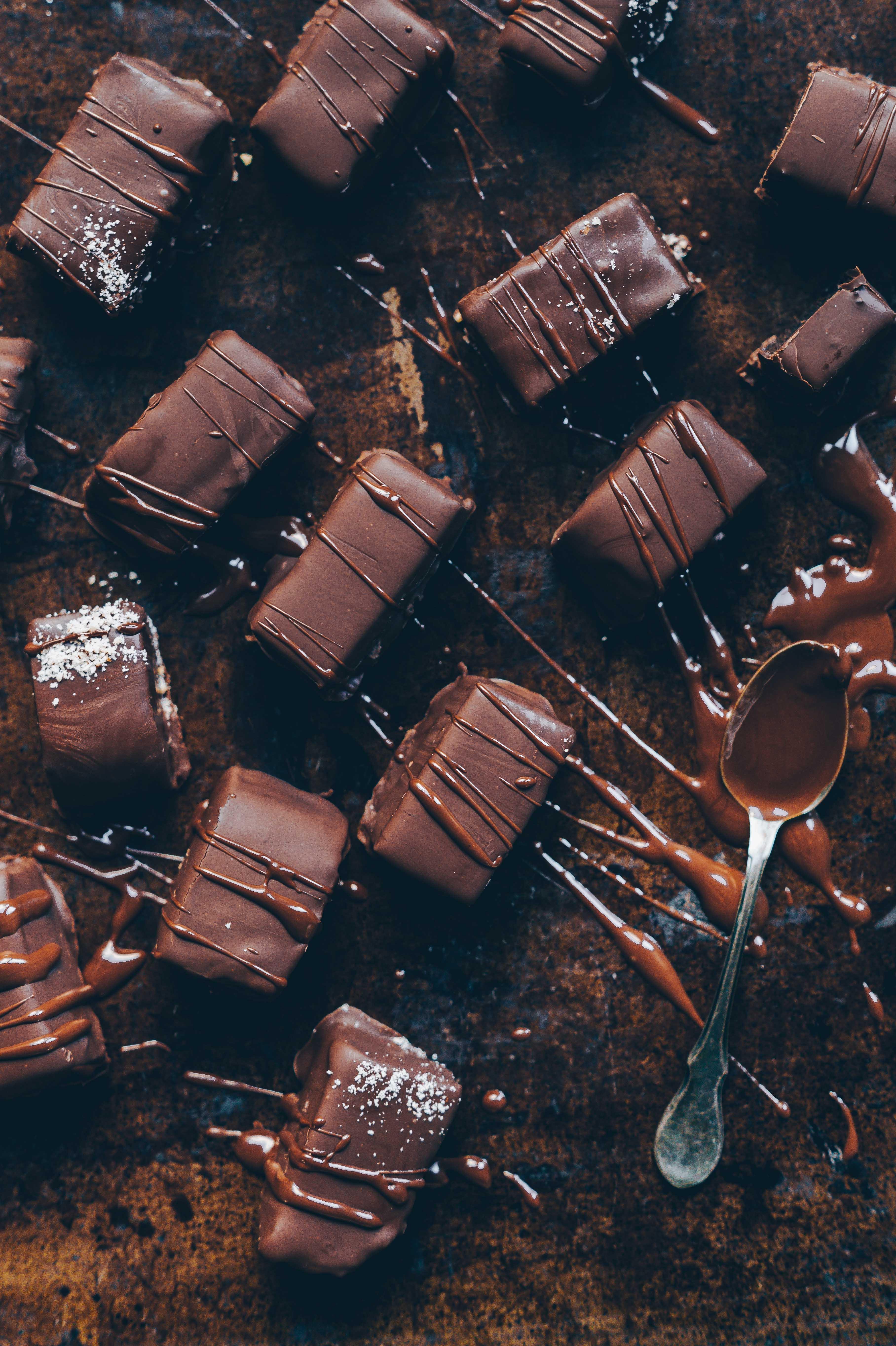 dattel Schokoladen bars