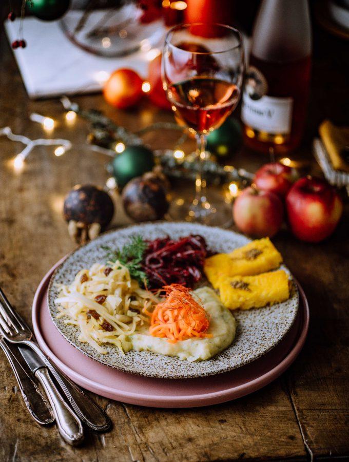 Veganes Weihnachtsdinner