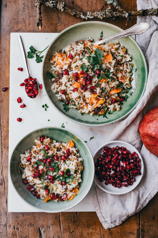 Rice Lentil Salad