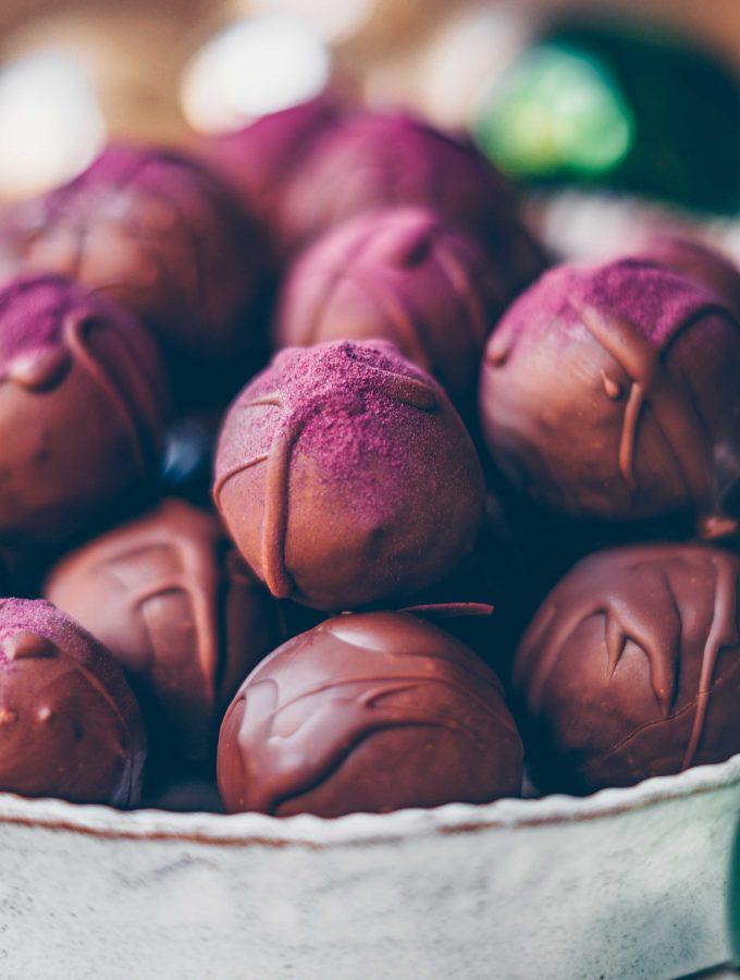 Fig & Chocolate Truffles