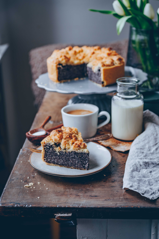 Veganer Mohn Quark Kuchen Klara S Life