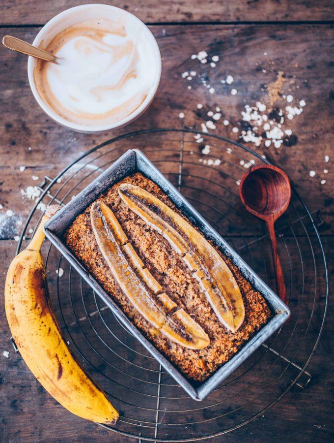 Veganes Bananenbrot (Glutenfrei)
