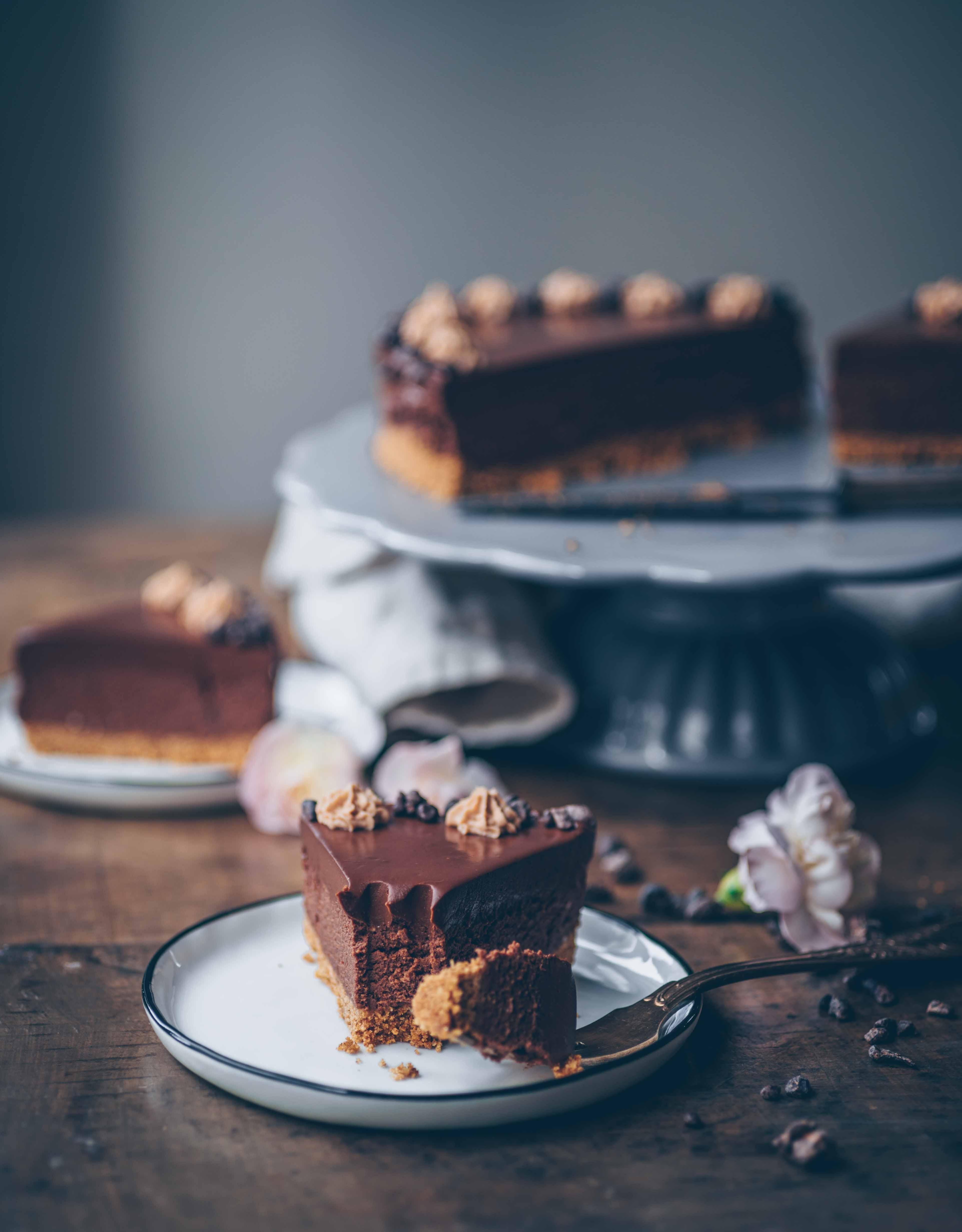 Schokoladen Mousse Kuchen Einfach Klara S Life