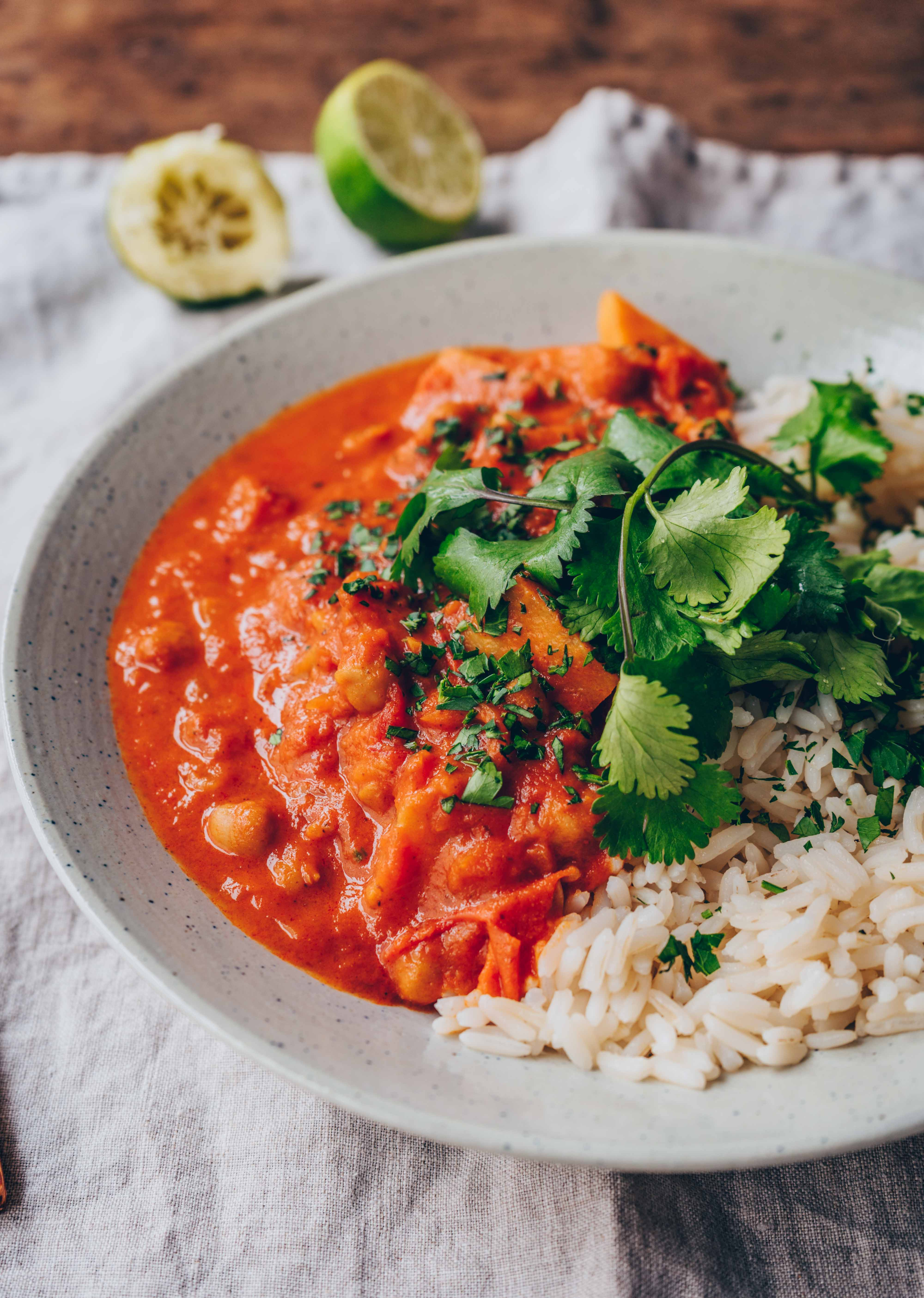 Chana Masala Kichererbsen-Curry