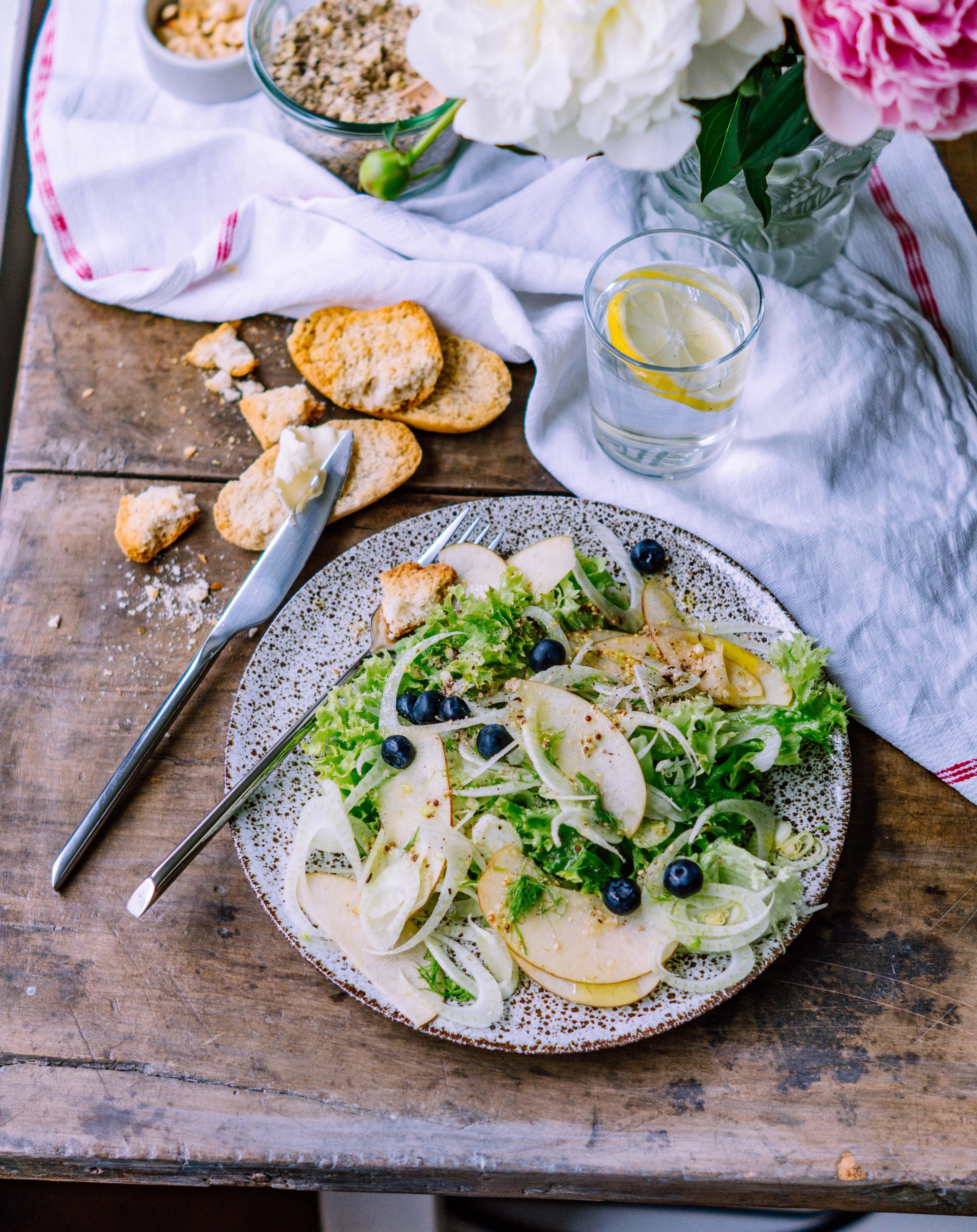 fenchel apfel salat
