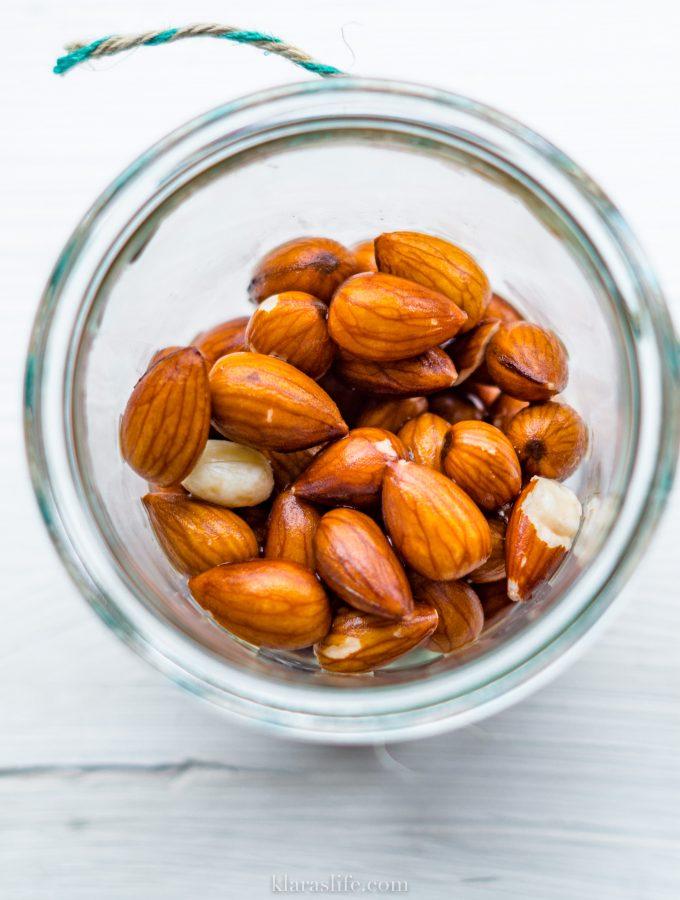 Home made nut milk