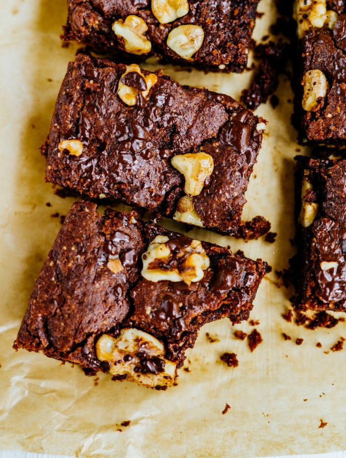Chocolate Hazelnut Brownies