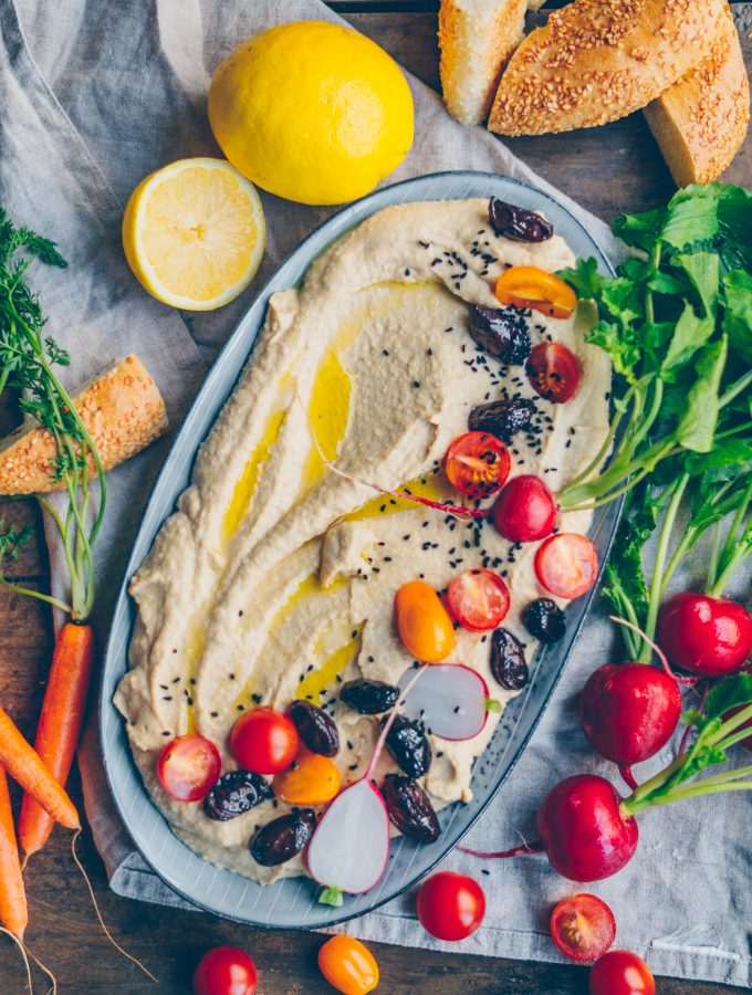 Hummus. Our all time favorite