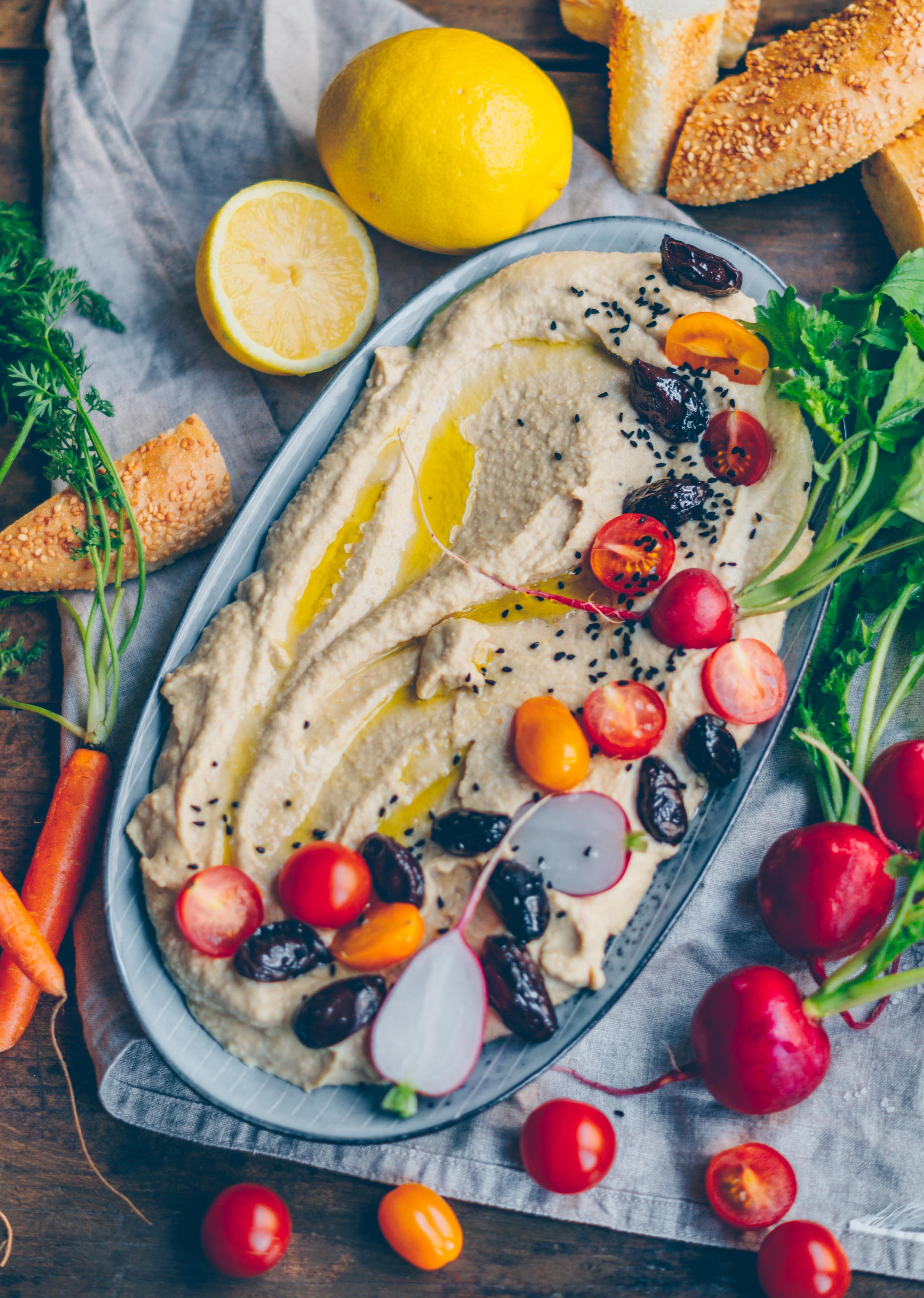 Grundrezept für Hummus