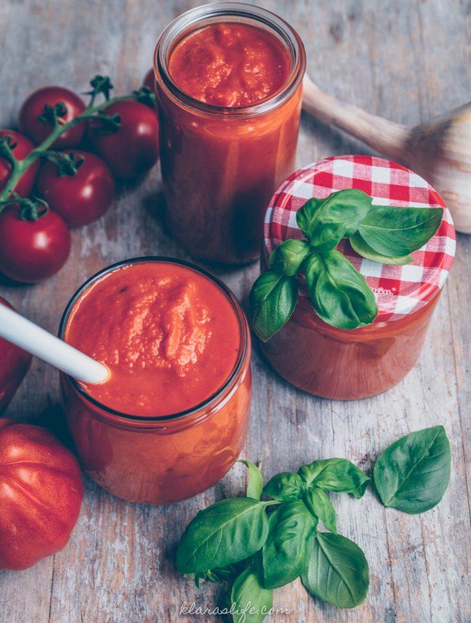 Die beste homemade Tomatensauce – Passata di pomodoro