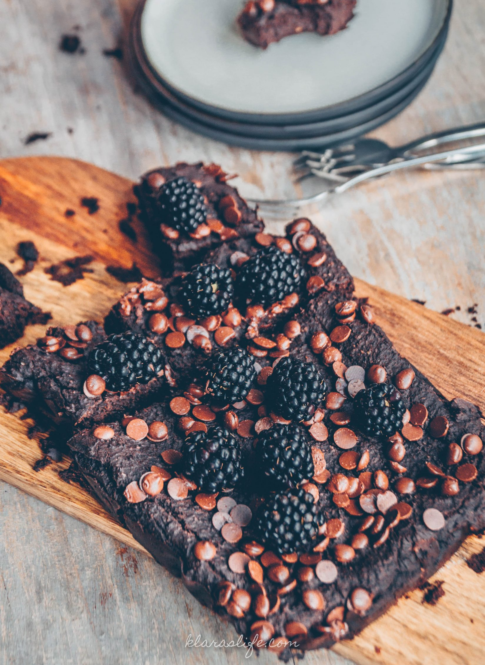 Chocolate bean brownies