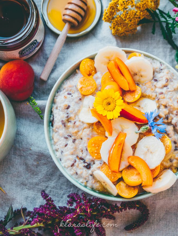 Spicy Chai Oatmeal