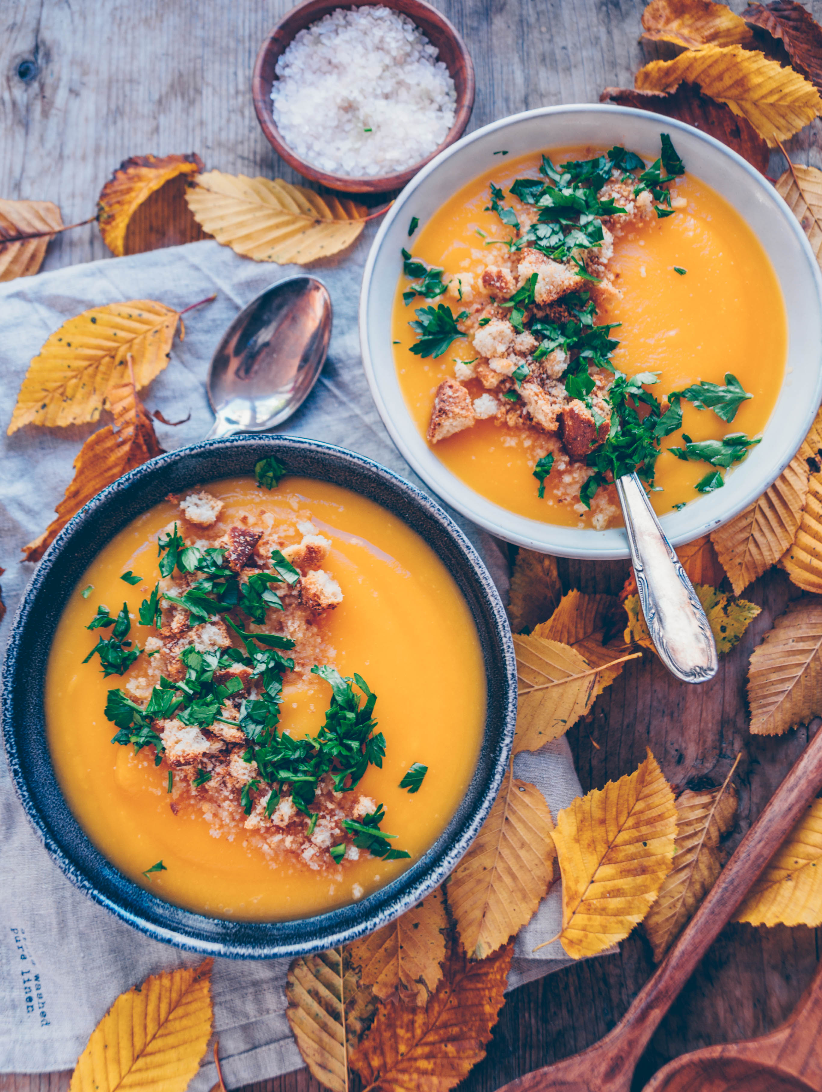 It is more than a pumpkin soup