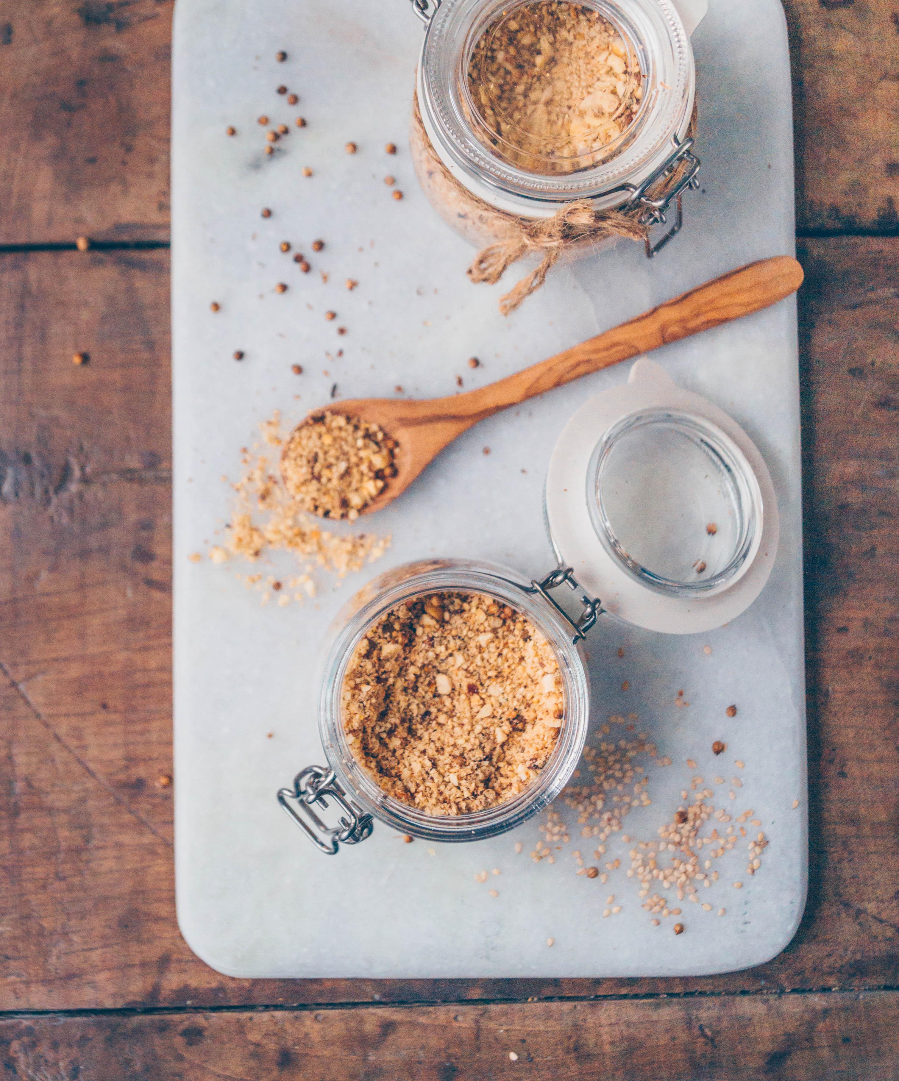 Basic dukkah recipe