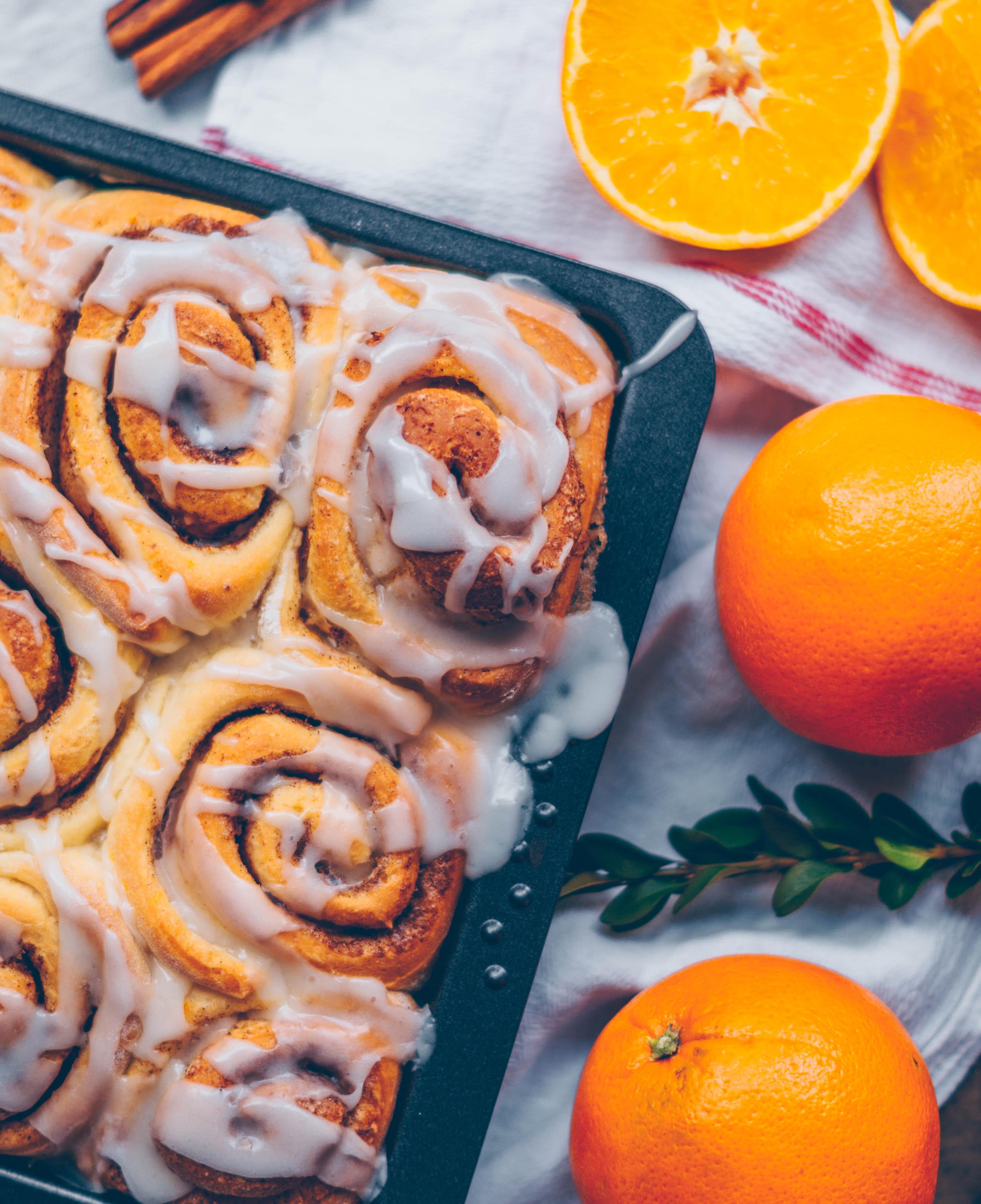 cinnamon orange rolls