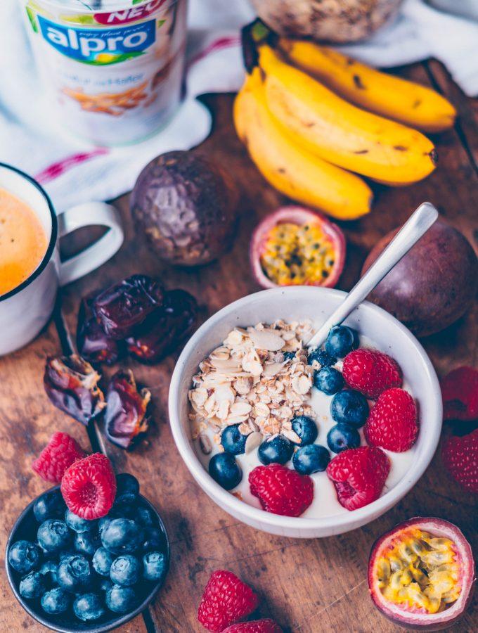 Alpro Breakfast Club + Sistermag + DU! Wie beginnst du deinen Tag? *Werbung
