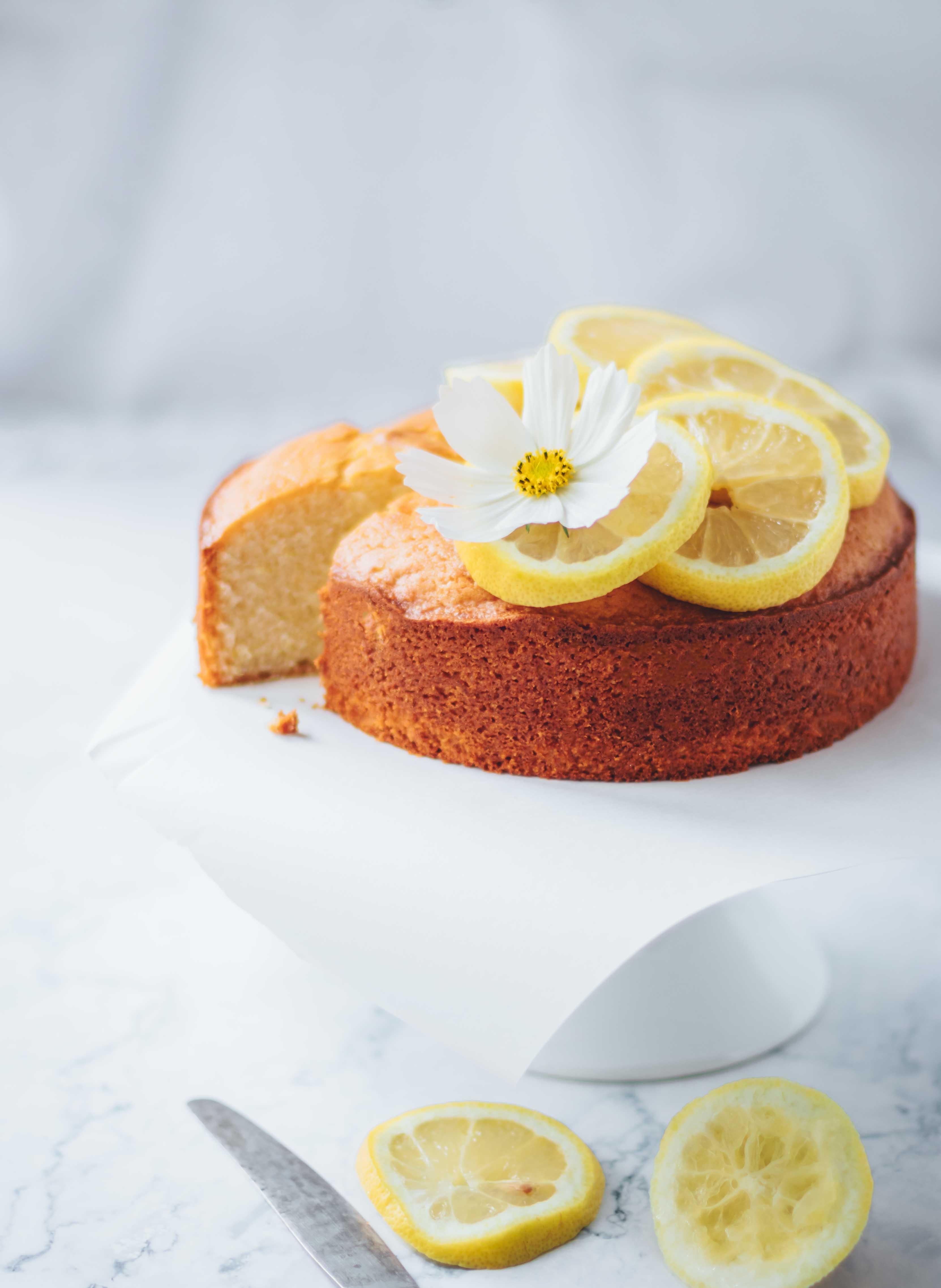 Zitronen Joghurt Kuchen