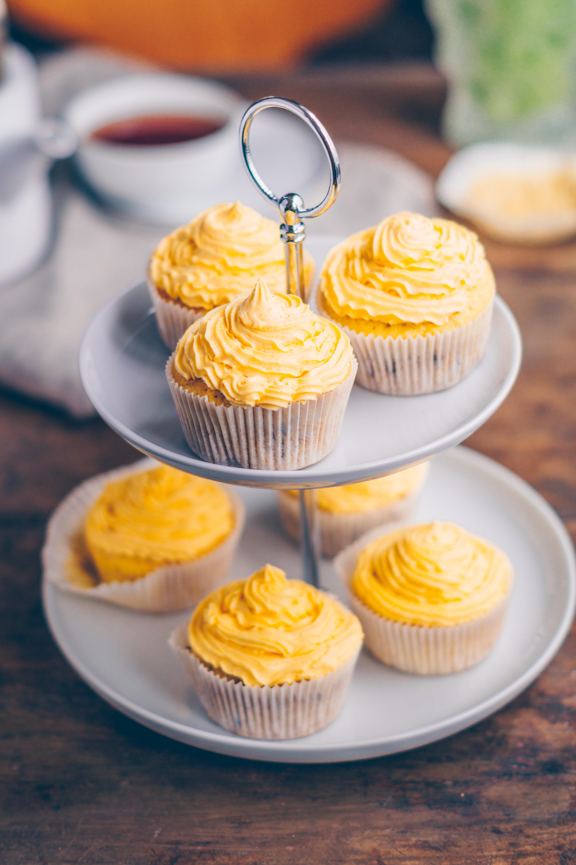 coffee vanilla cupcakes