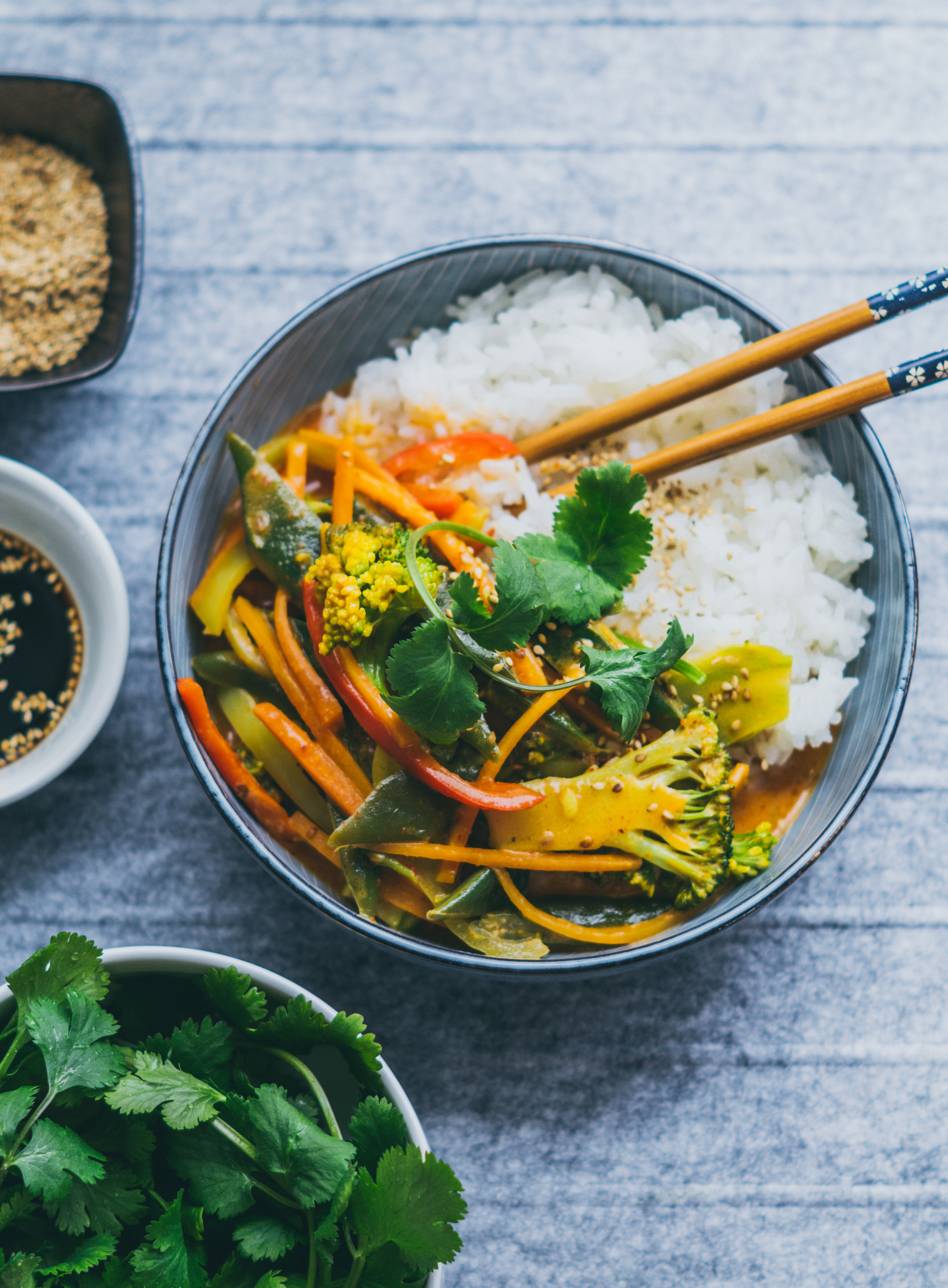 Red Coconut Curry