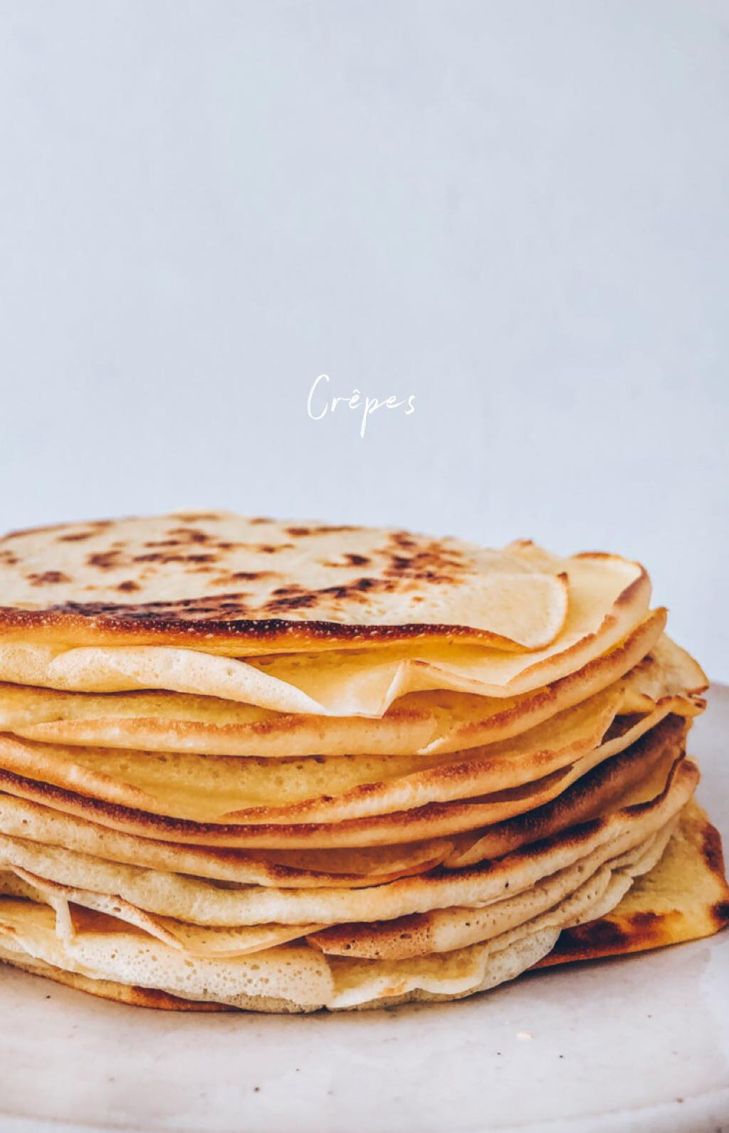Basic Crepes Recipe Fluffy And Vegan Recipe Klara S Life