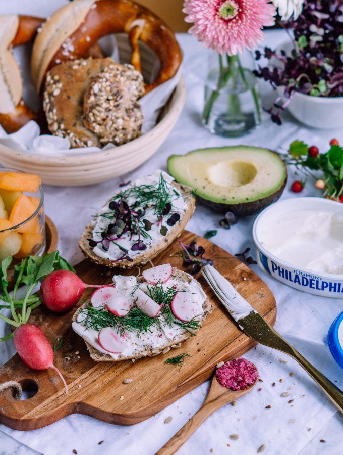 Leckere Frühstücksideen mit Philadelphia Joghurt (enthält Werbung)
