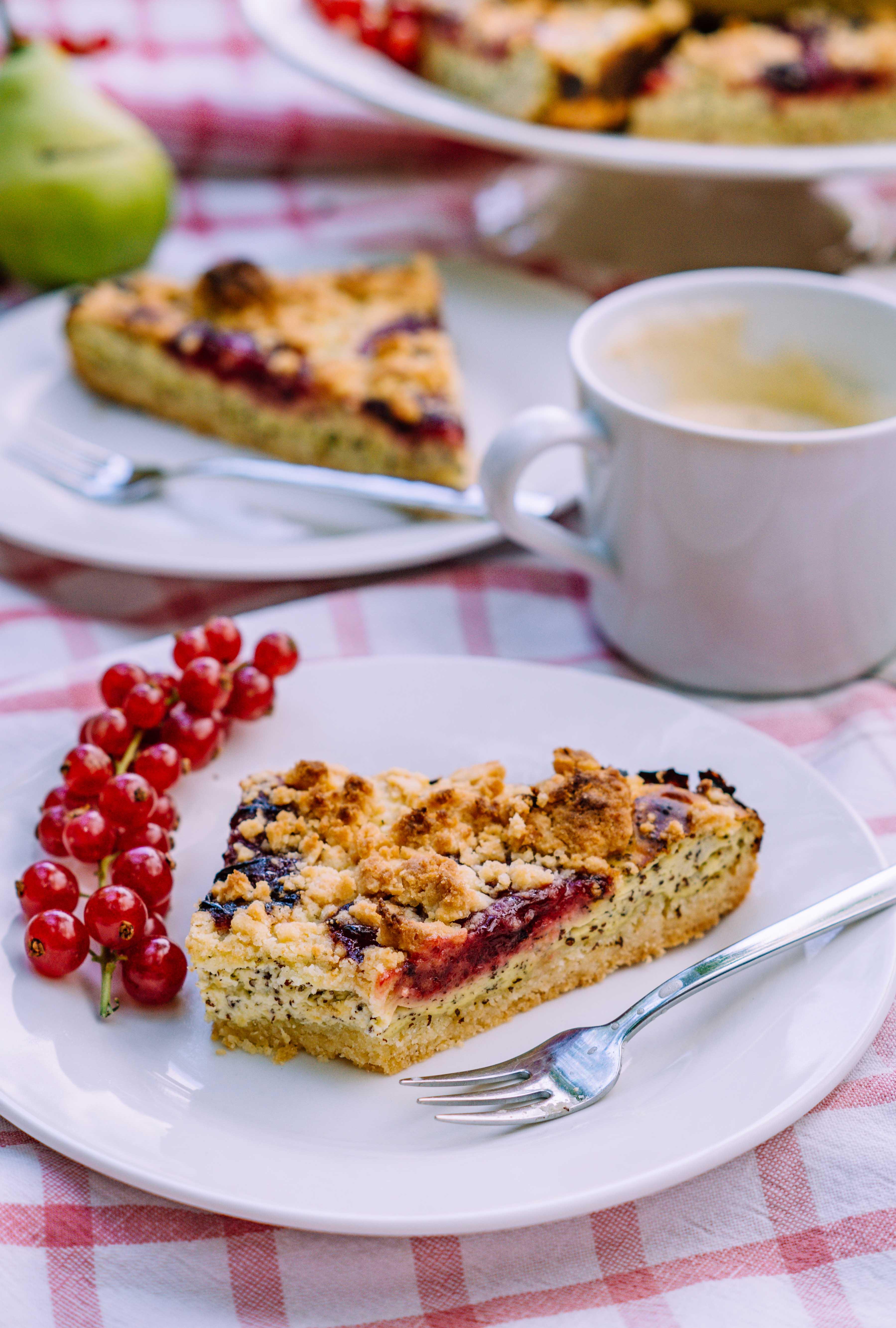 poppy seed cheese cake
