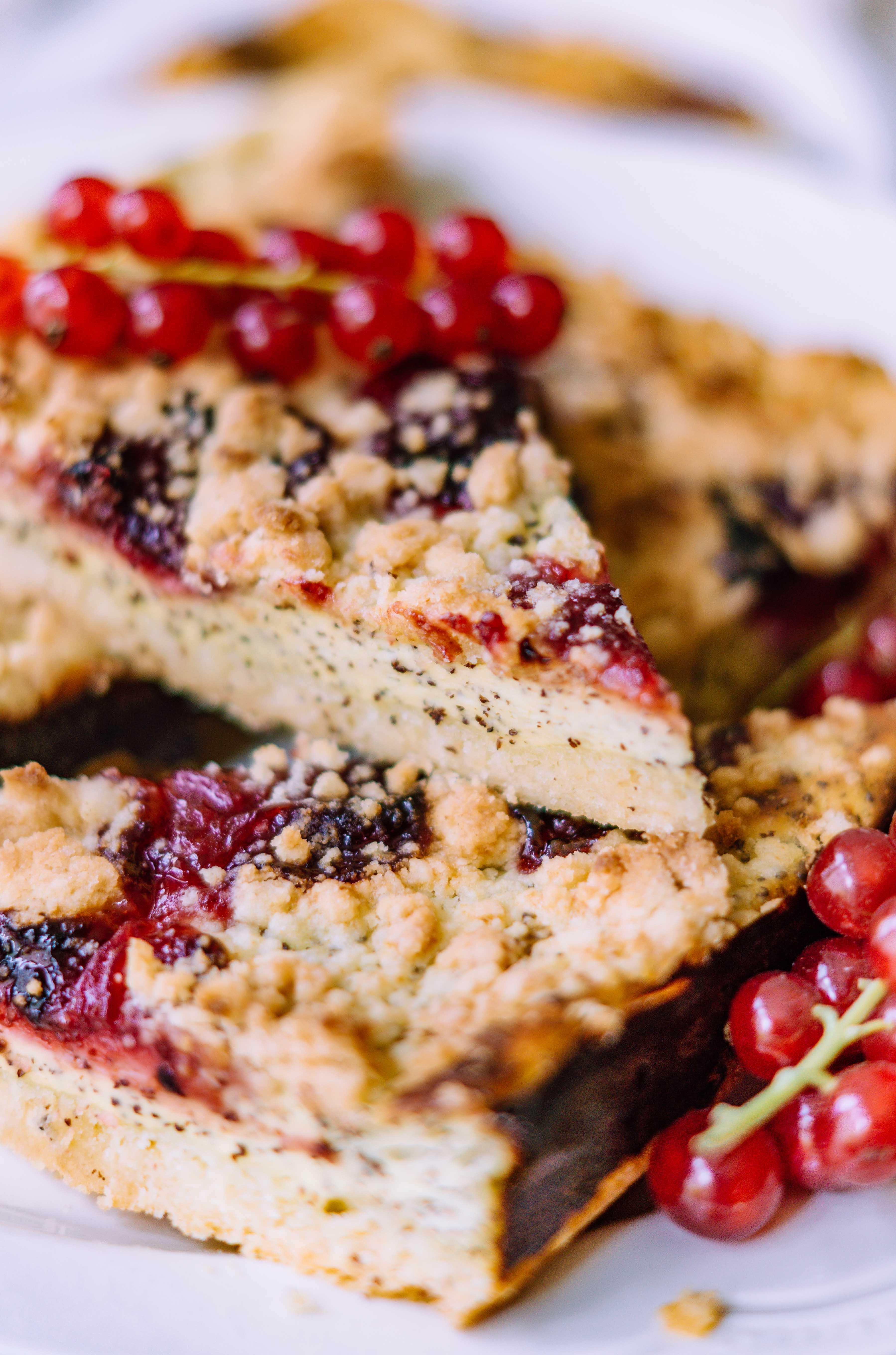 Poppy Seed Cheesecake