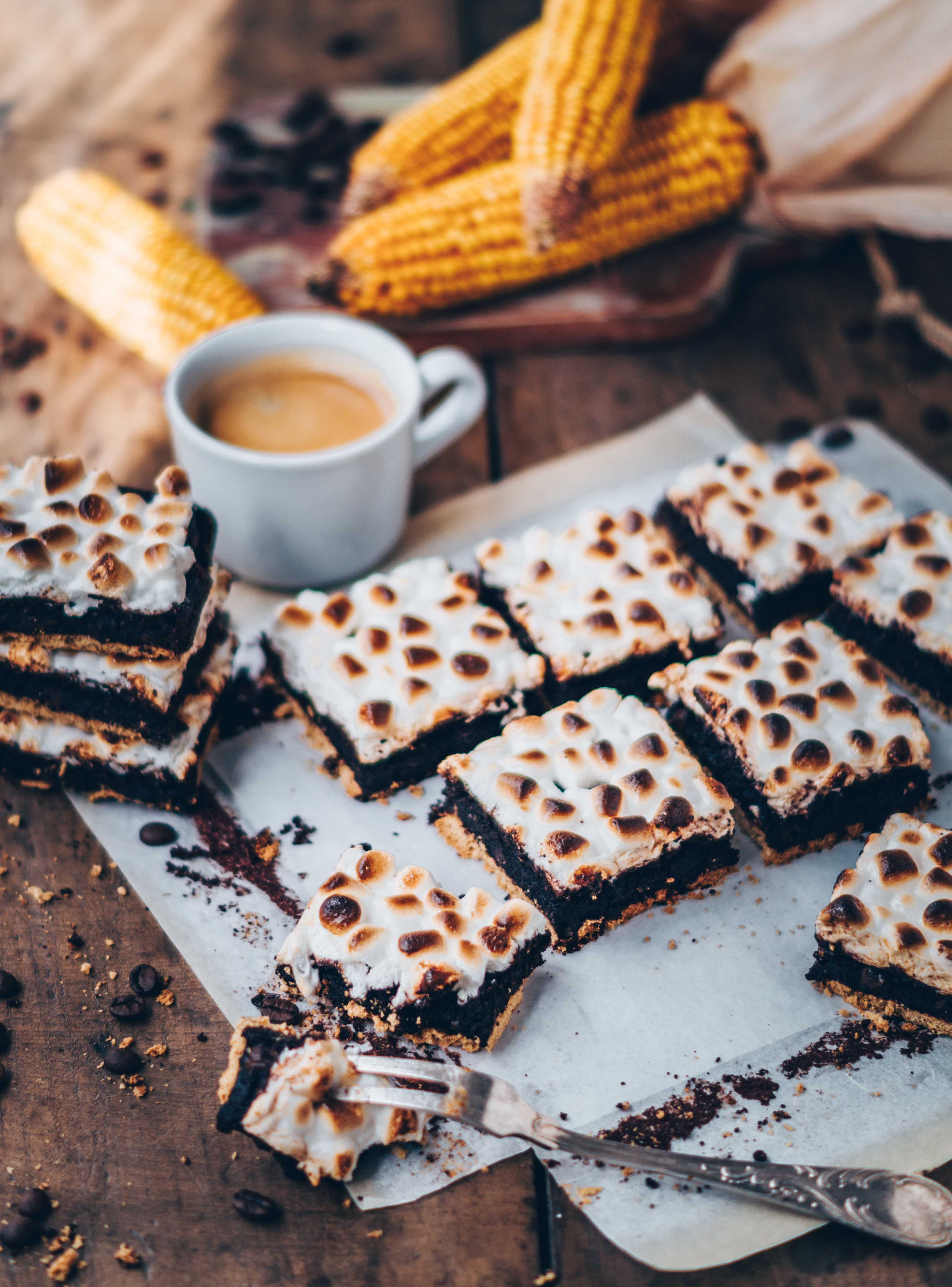 s´more Schokoladen brownies