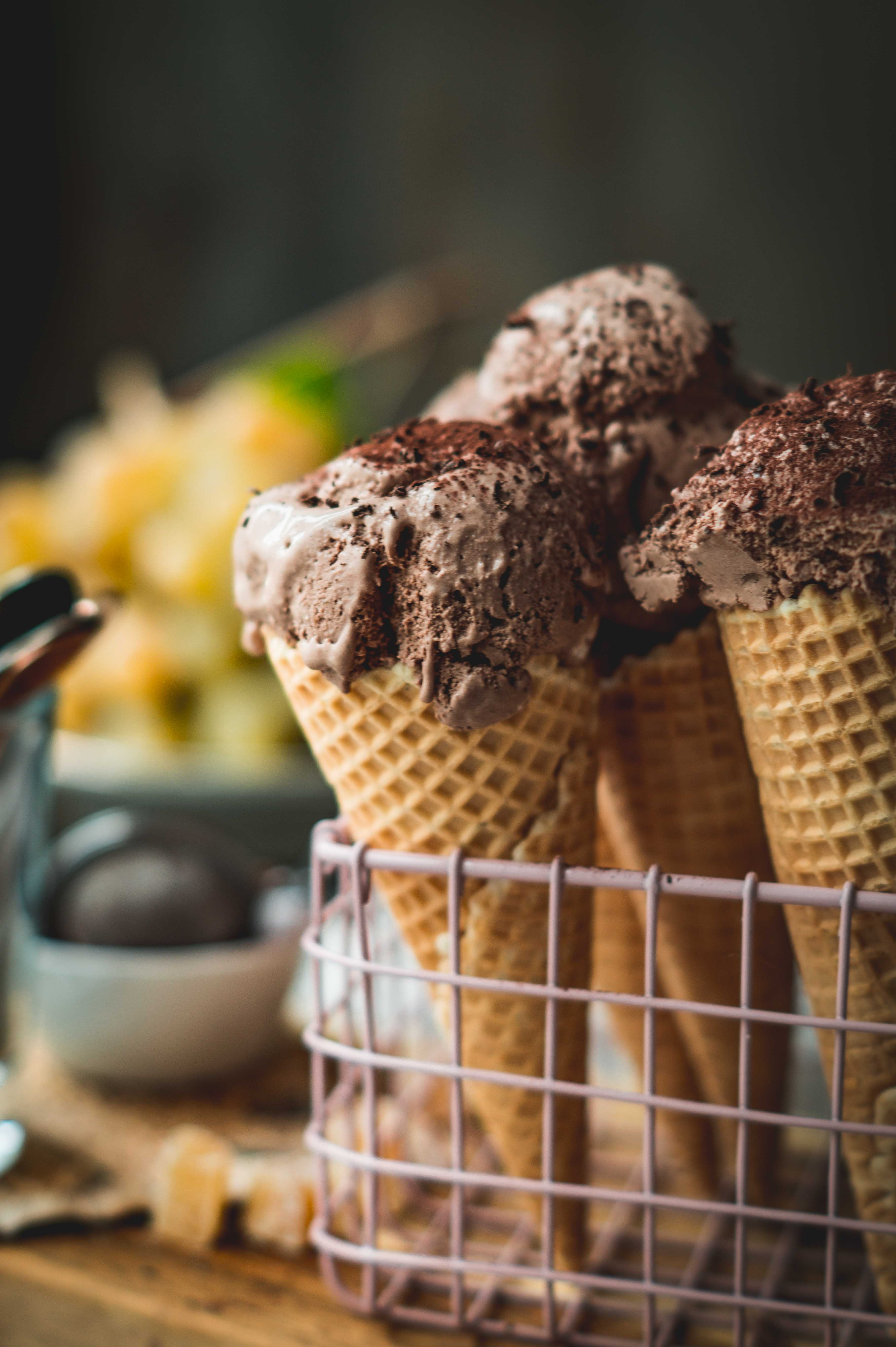 Chocolate Ginger Ice Cream