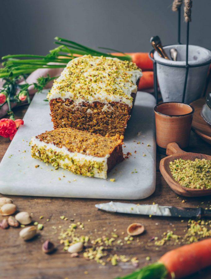 Rüblikuchen | Der Beste Karottenkuchen, vegan & saftig