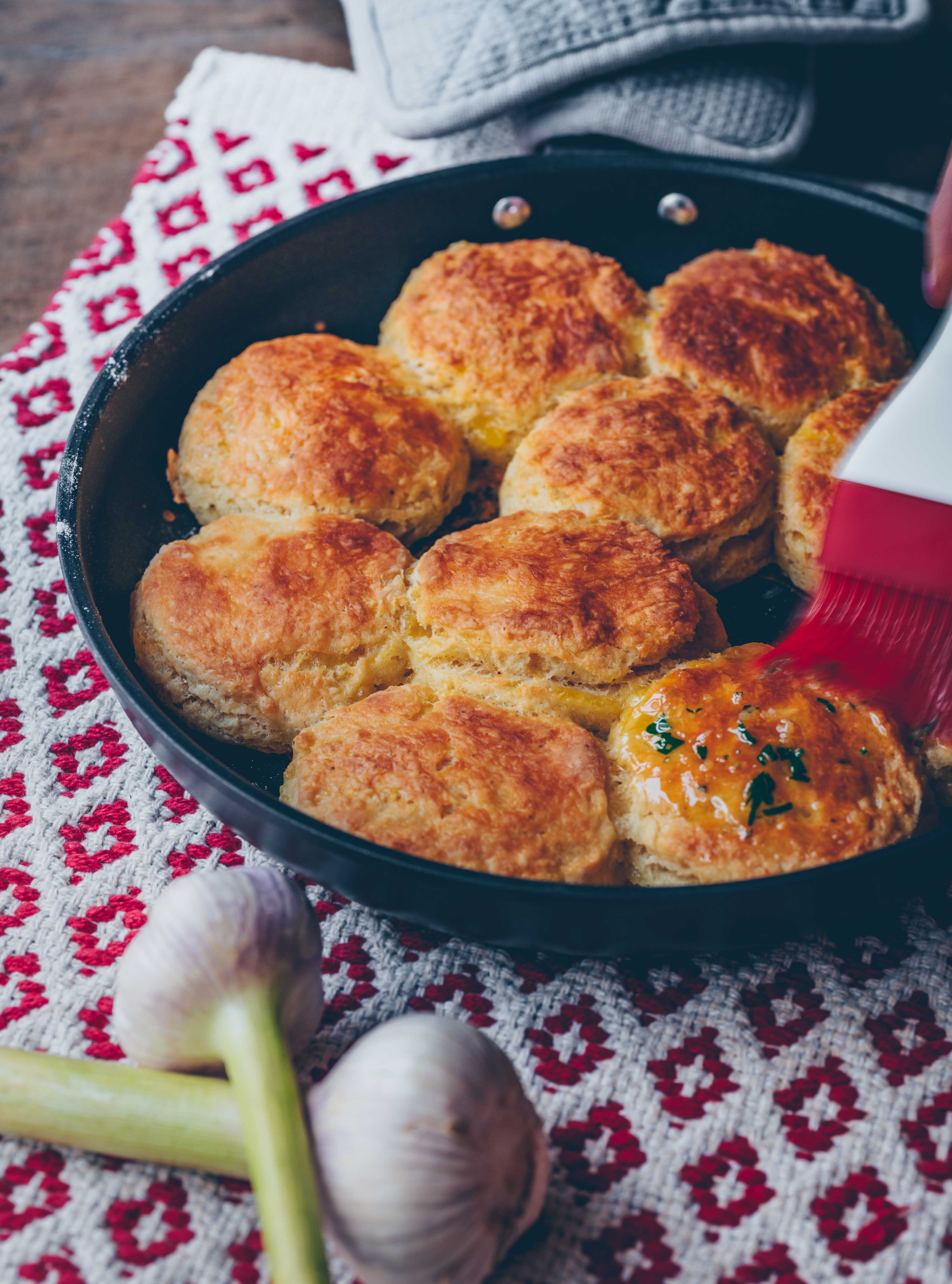 Vegane Käse biscuits