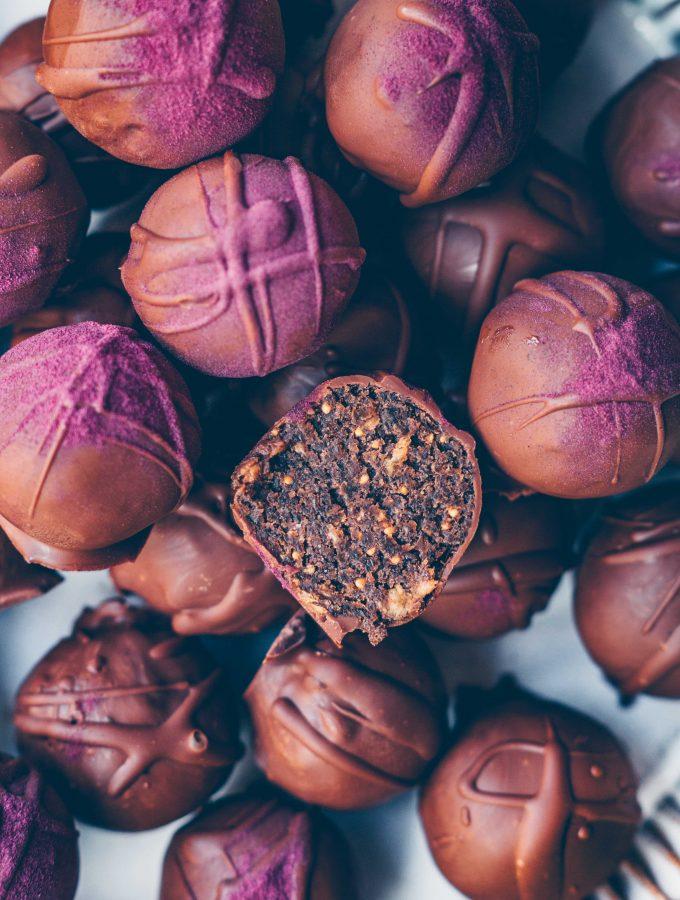 Feigen-Schokoladen-Pralinen
