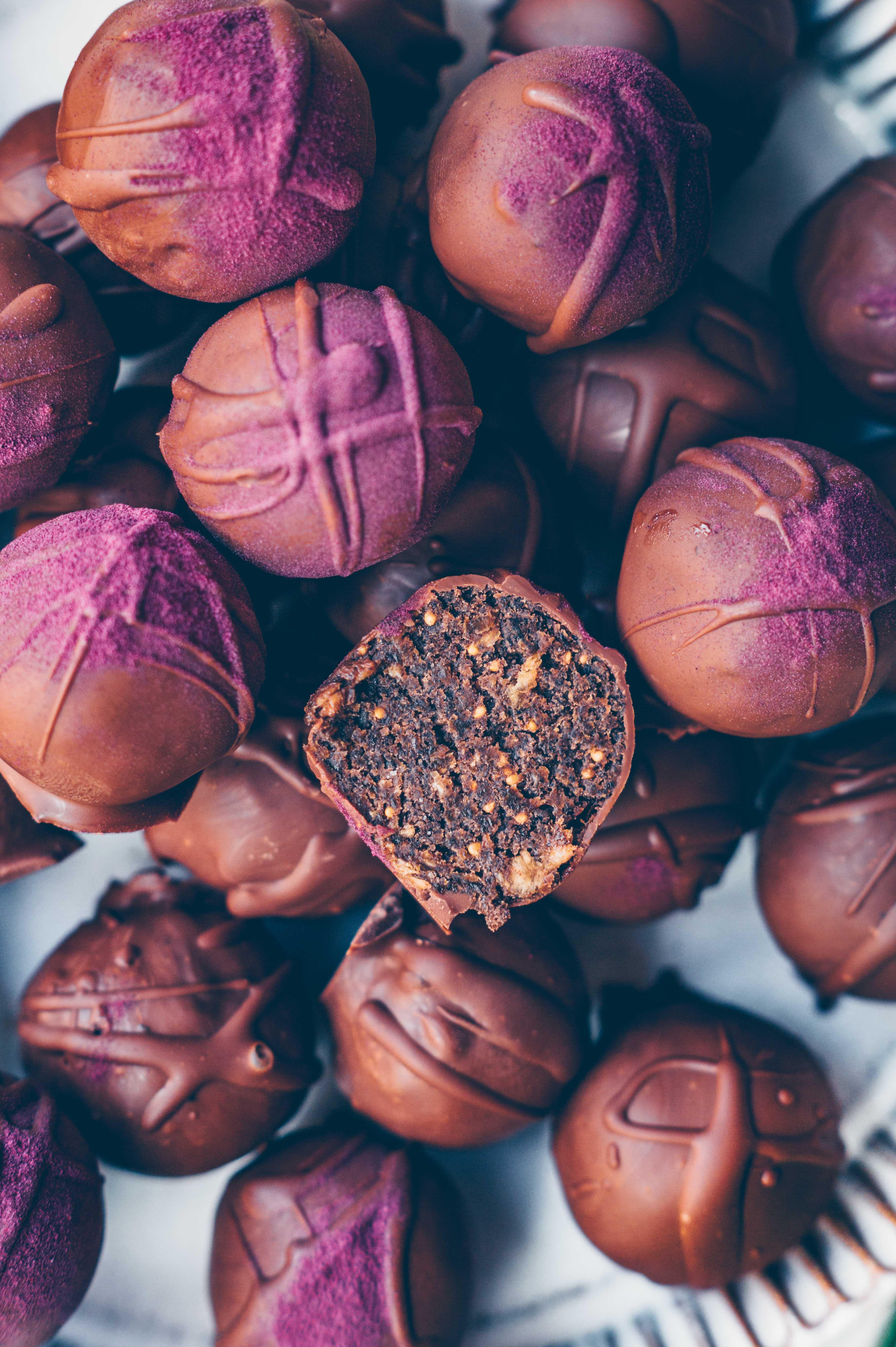 Feigen Schokoladen Pralinen