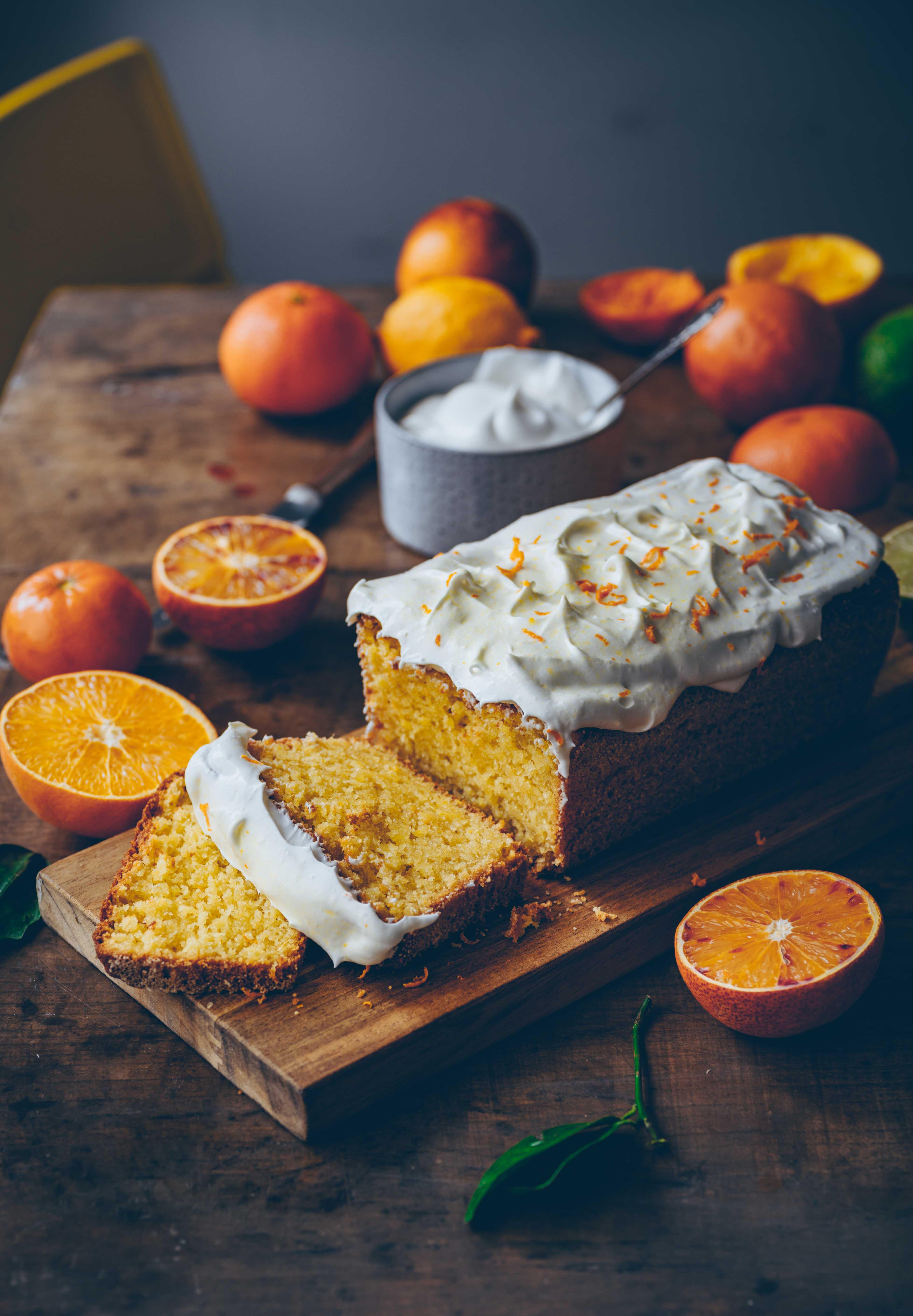 orangen Mandelkuchen