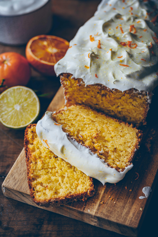 orangen Mandel Kuchen