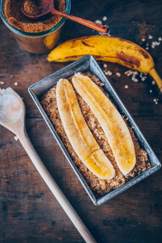 Veganes Bananenbrot