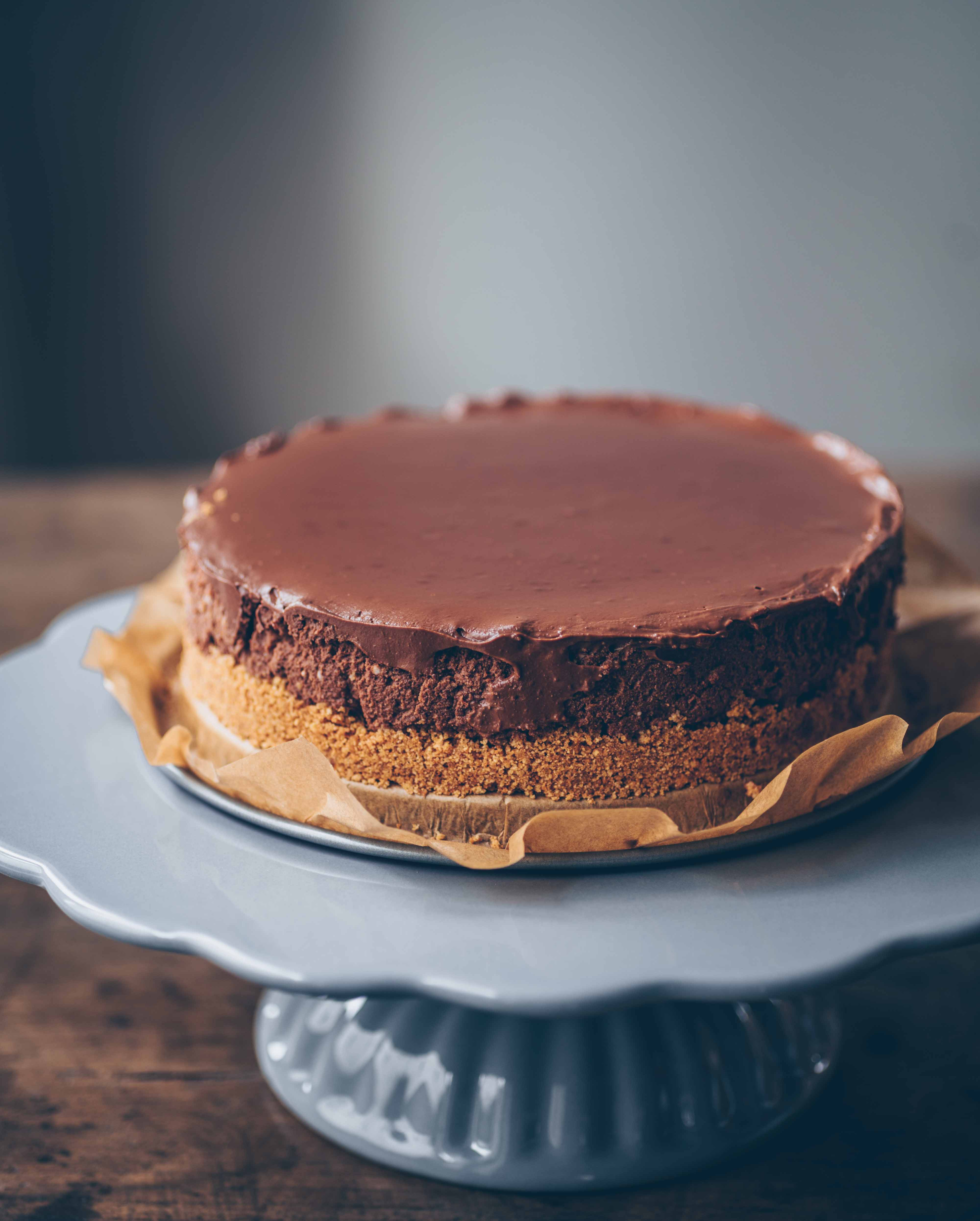 Schokoladen Mousse Kuchen