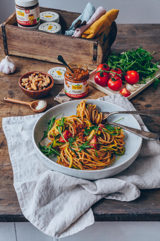 Leichte Und Leckere Rezepte Mit Tartex Pesto Tomate Walnuss Tartex