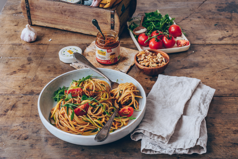 Leichte Sommer Küche Rezepte : Leichte und leckere rezepte mit tartex pesto tomate walnuss